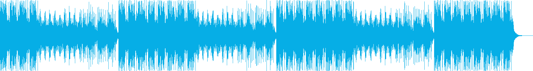 各種映像に!トーク用にも爽やかなBGMの再生済みの波形