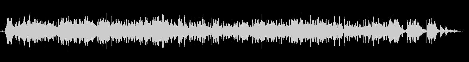 川のせせらぎ自然音ヒーリングクラシックの未再生の波形