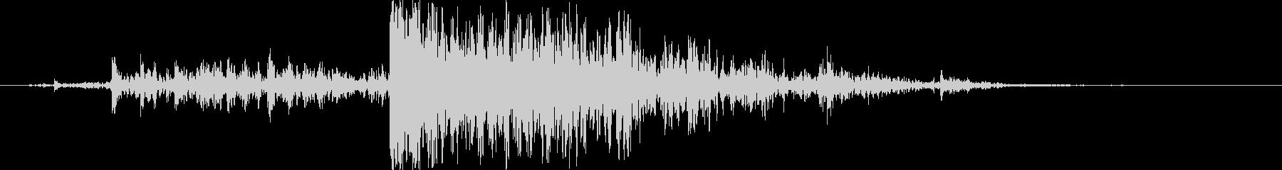 木 ミディアムクラッシュ03の未再生の波形