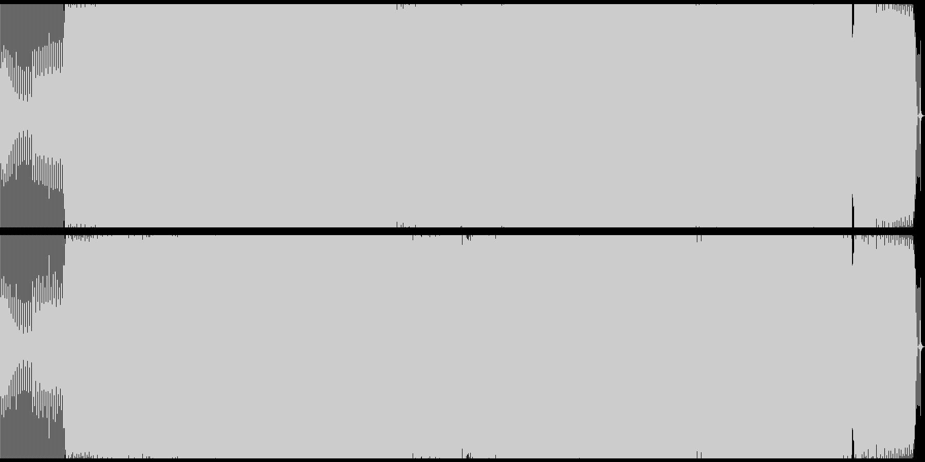 クラブ/テックハウス/プログレッシブの未再生の波形