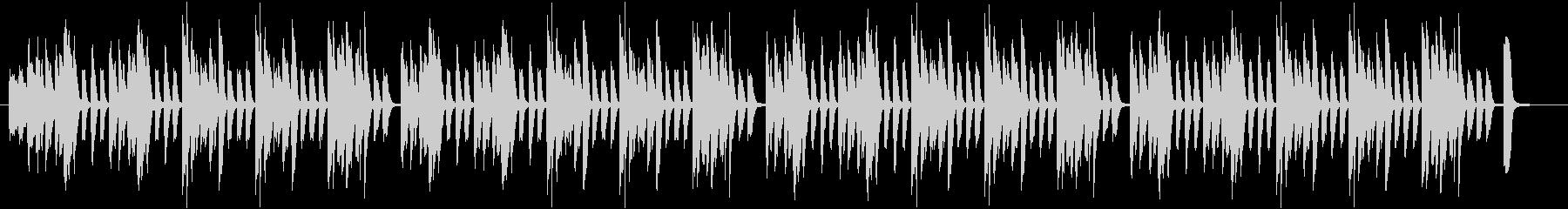 簡素で少しコミカル、使い勝手の良いBGMの未再生の波形