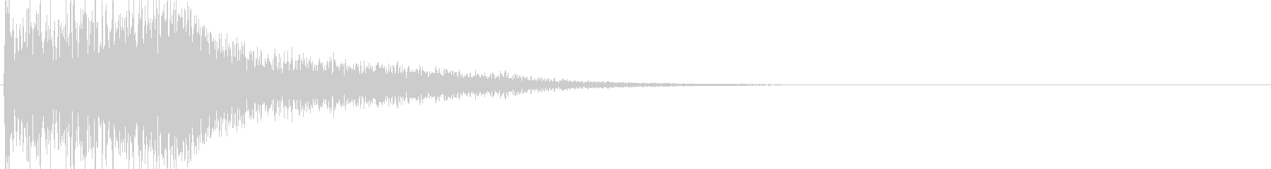 ジャラン(決定音、起動音、ゲームアプリ)の未再生の波形
