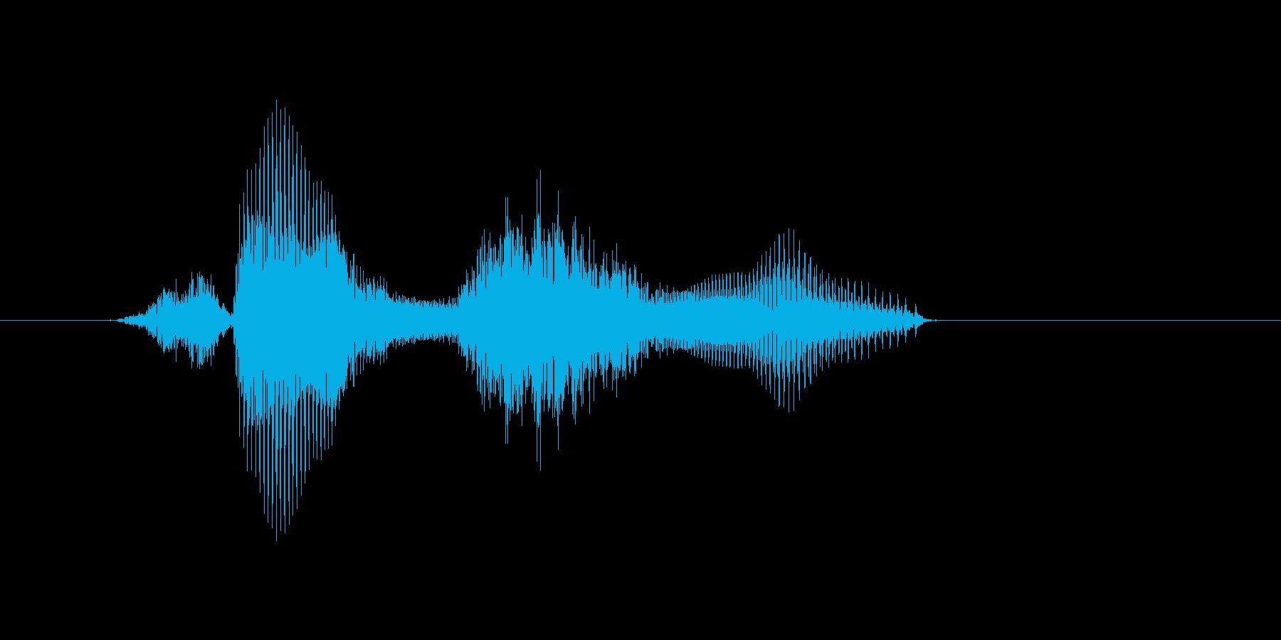算数の再生済みの波形