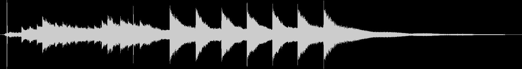 マントルチャイムクロック:スモール...の未再生の波形