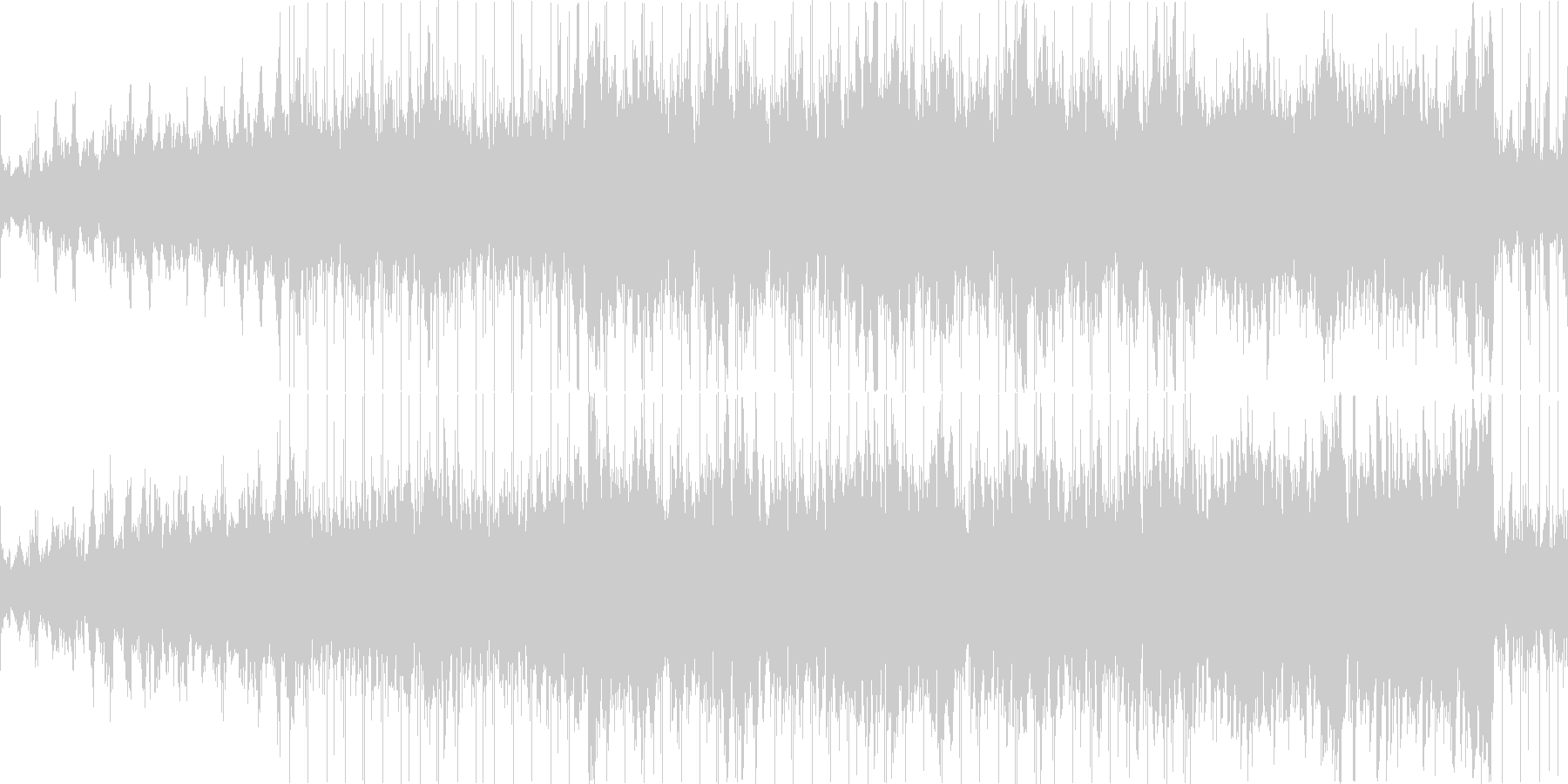 きれいなハーモニー、アコースティクバン…の未再生の波形