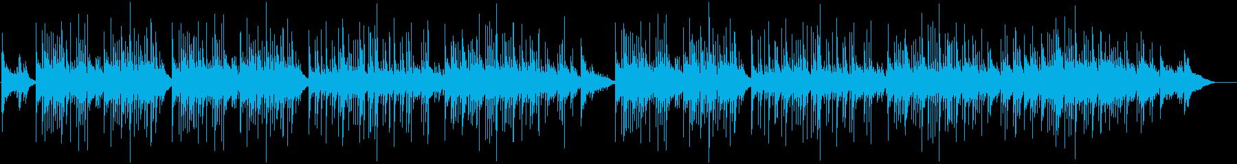 ゆったり癒しのリズムと切なさ漂う三線の音の再生済みの波形