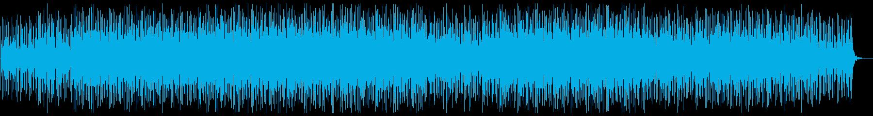幻想的で広がりのあるハウス/EDMの再生済みの波形