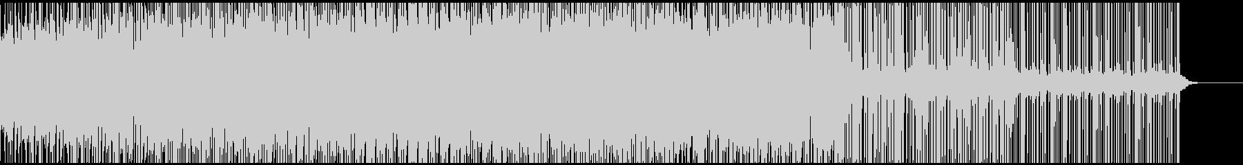 独特なグルーブ感が特徴的なインストの未再生の波形
