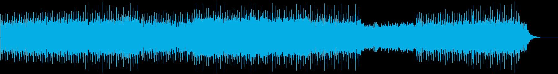 企業VP 爽やかなピアノとストリングスの再生済みの波形