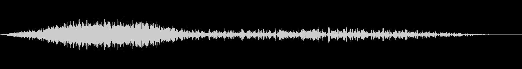 シューッという音EC07_91_4 2の未再生の波形