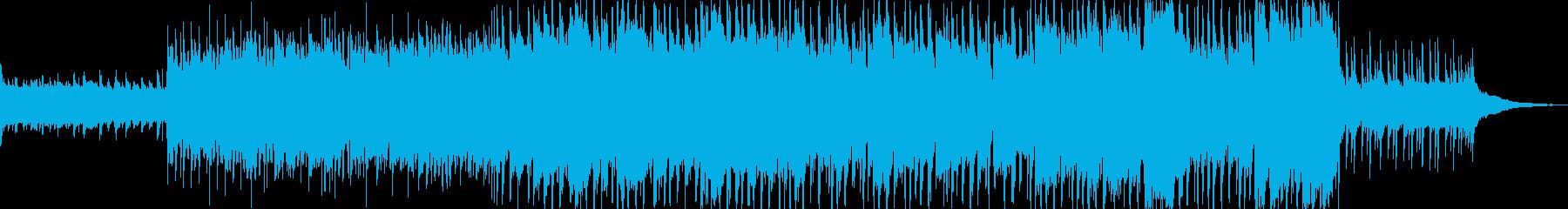 明るく前向なアコースティックポップスの再生済みの波形