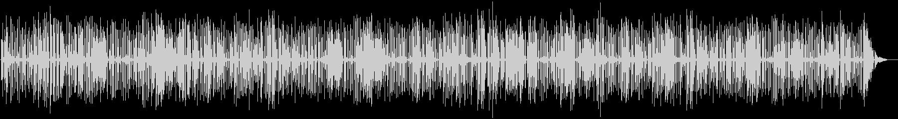YouTube、おしゃれソロジャズピアノの未再生の波形