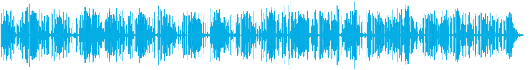 YouTube、おしゃれソロジャズピアノの再生済みの波形