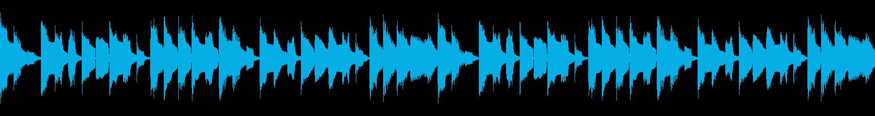 ノロノロな雰囲気のBGM ループ仕様#3の再生済みの波形