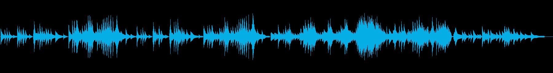 抒情小曲集より「愛の歌」の再生済みの波形
