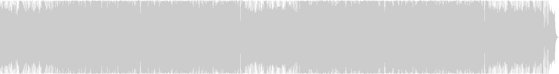 EWIメロディーの16ビートフュージョンの未再生の波形