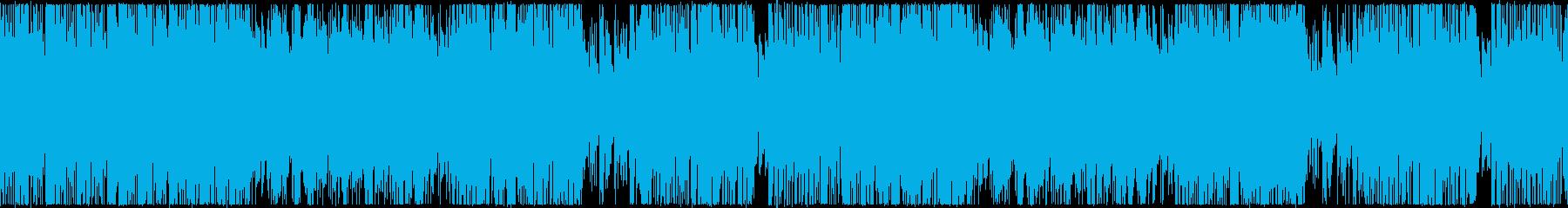 フュージョン風ステージセレクト【ループ】の再生済みの波形