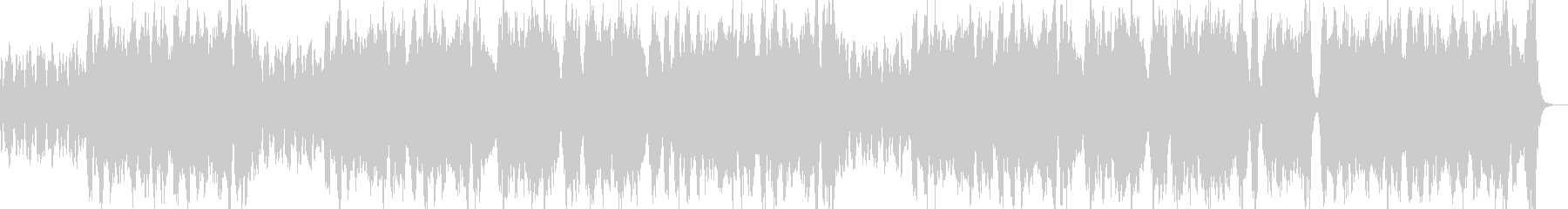 ロシア風オーケストラワルツの未再生の波形
