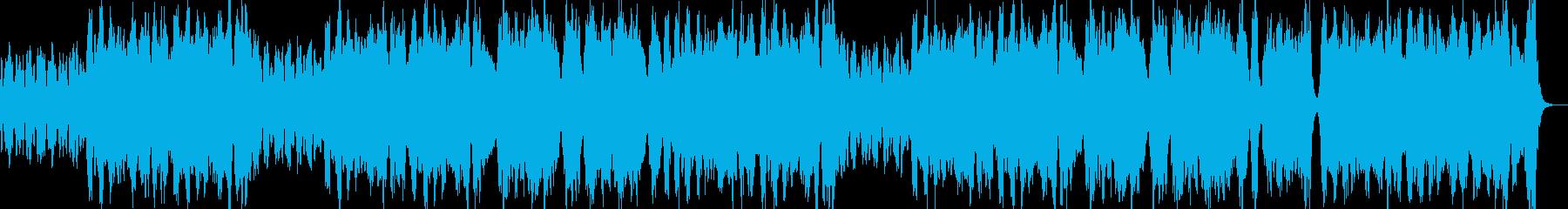 ロシア風オーケストラワルツの再生済みの波形