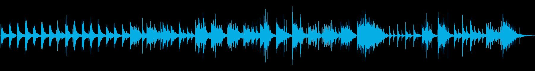 ピアノソロ・心の力の再生済みの波形