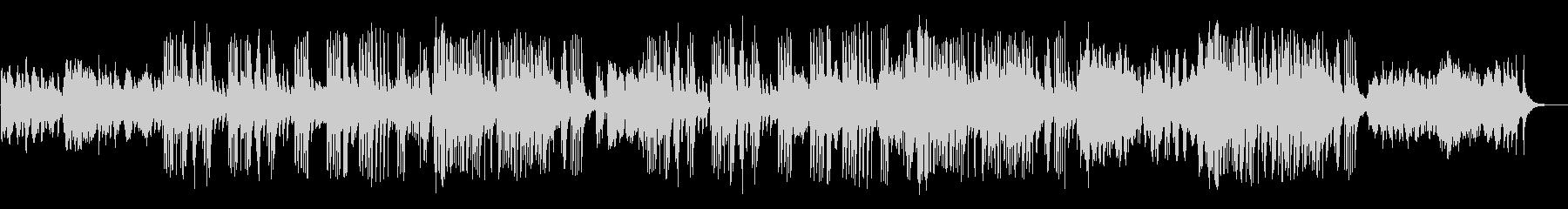 生ヴァイオリンとピアノの結婚式用バラードの未再生の波形