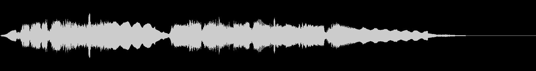 ムード感あるジャズ風サックスソロ12秒の未再生の波形