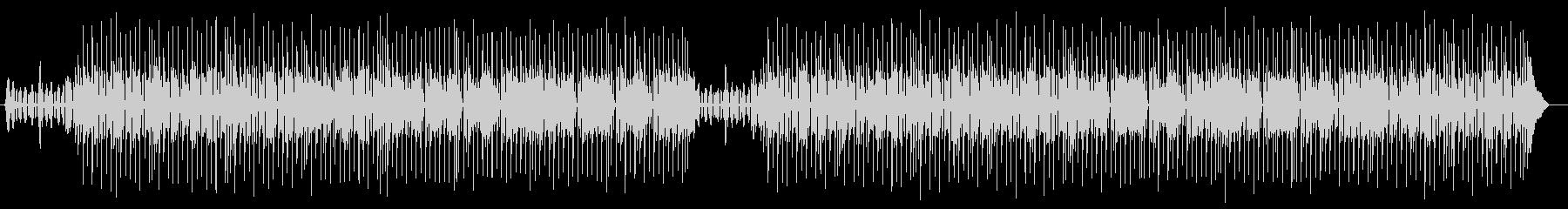 ゆったりとリラックスシンセポップス曲の未再生の波形