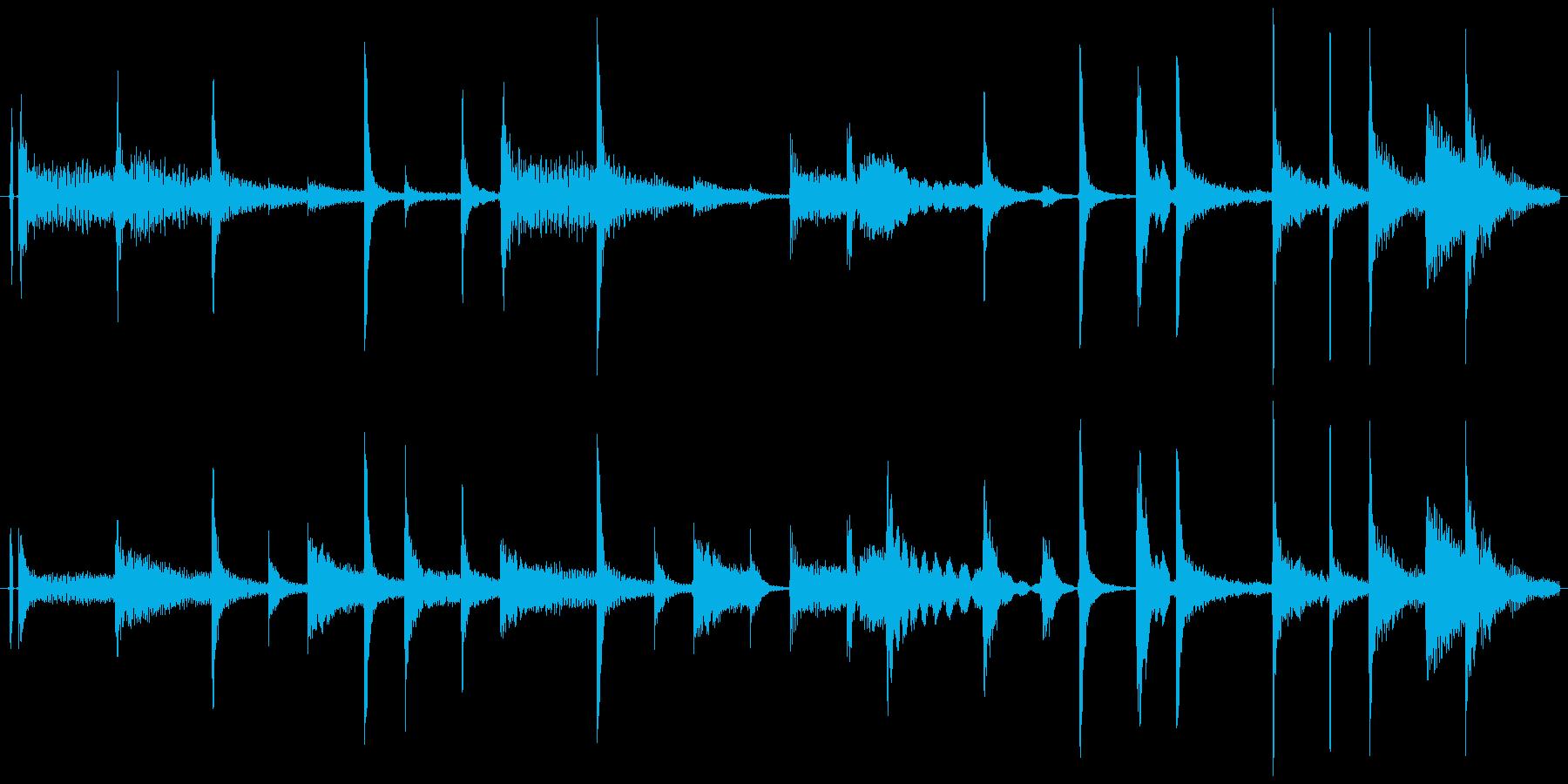ドラム パーカッション ループ可能01!の再生済みの波形