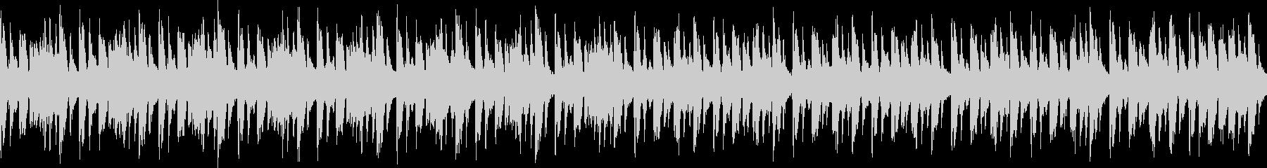 キャラ選択、システム画面など(ループ)3の未再生の波形