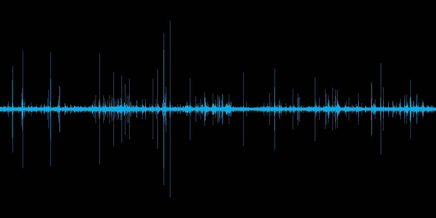 オフィスの雑音(声なし)の再生済みの波形
