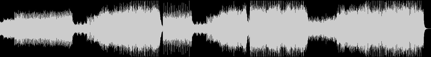ストリングスとシンセの融合四つ打ちEDMの未再生の波形
