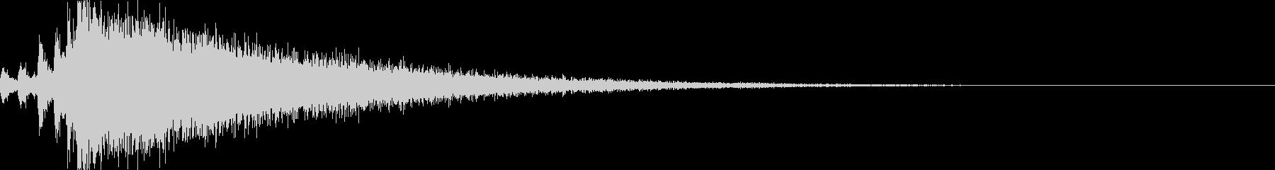 紹介、発表する時に使うドラムロール_02の未再生の波形