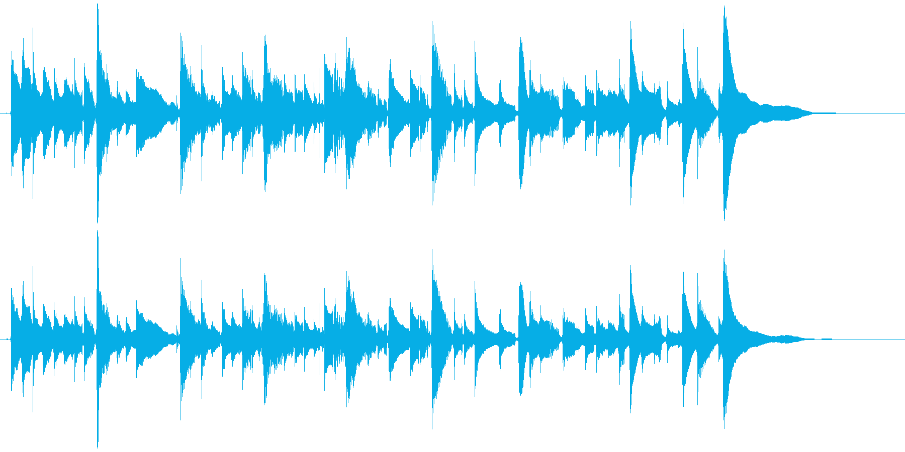 アコギ1/爽やか、ソロ、生音の再生済みの波形