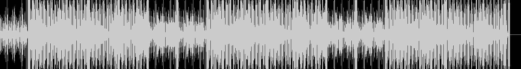 クラブ系2stepリズムのクールな曲の未再生の波形