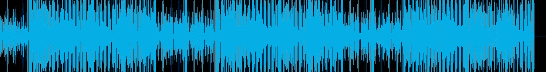 クラブ系2stepリズムのクールな曲の再生済みの波形