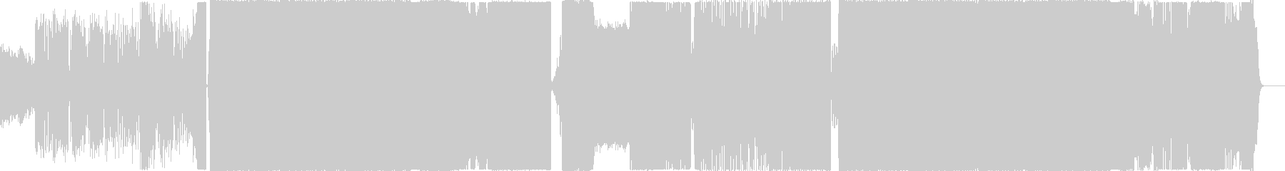 Electro Piano 切ないの未再生の波形