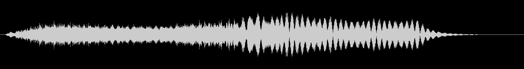 シンセが生成した膨潤パッド。エフェ...の未再生の波形