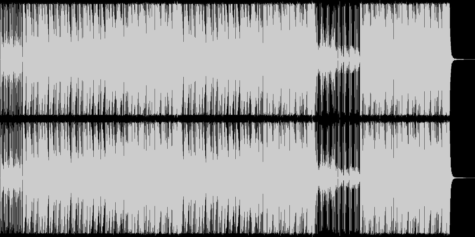 ピアノ系/ダーク/ヒップホップビーツ#1の未再生の波形