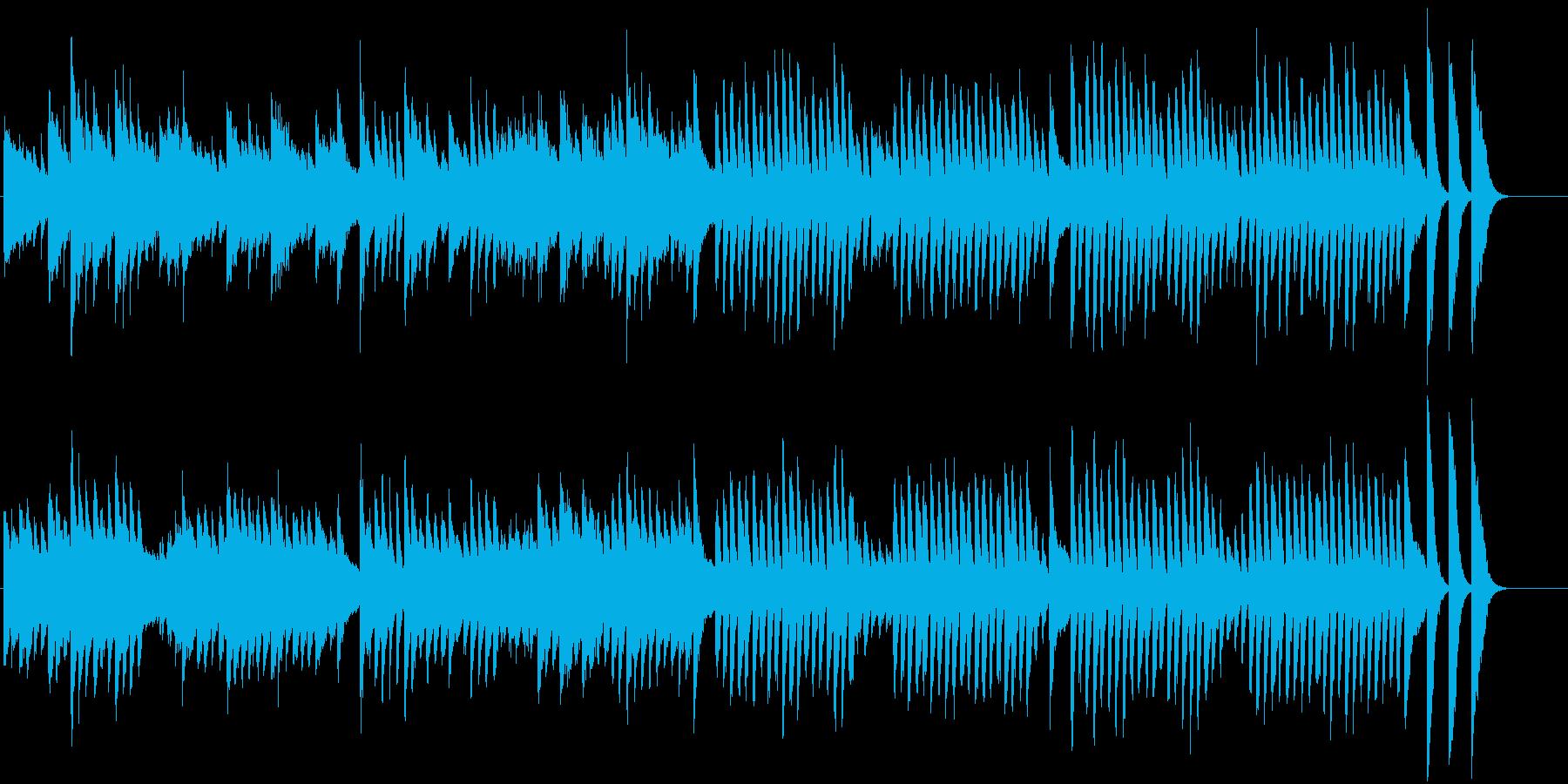 童謡・うれしいひなまつりピアノBGM④の再生済みの波形