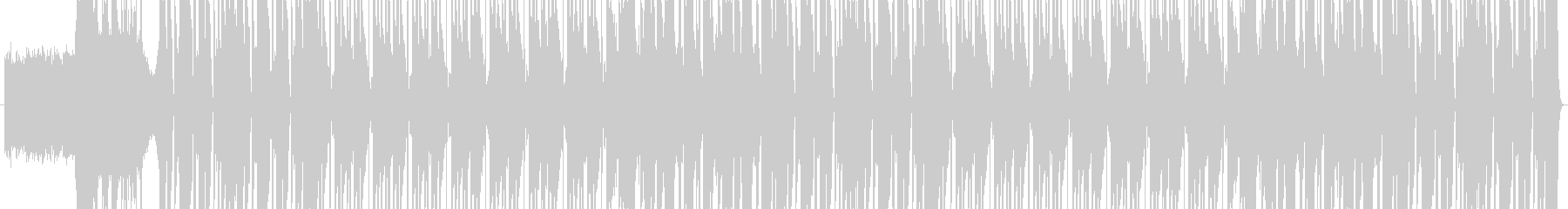 HIP HOP BEAT 04の未再生の波形