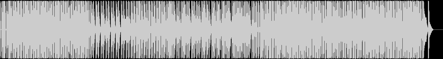 日常をイメージの可愛いエレクトロポップの未再生の波形
