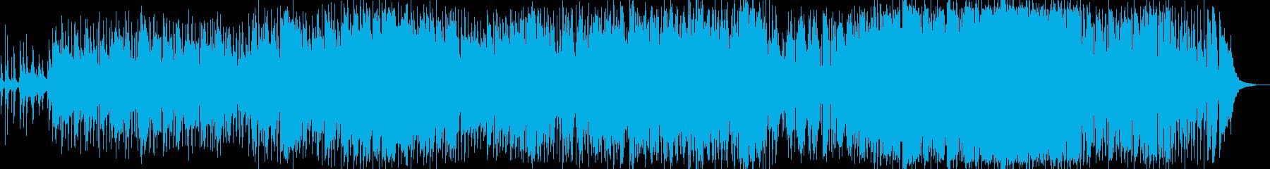 生演奏で切なく感動的に歌い上げるバラードの再生済みの波形