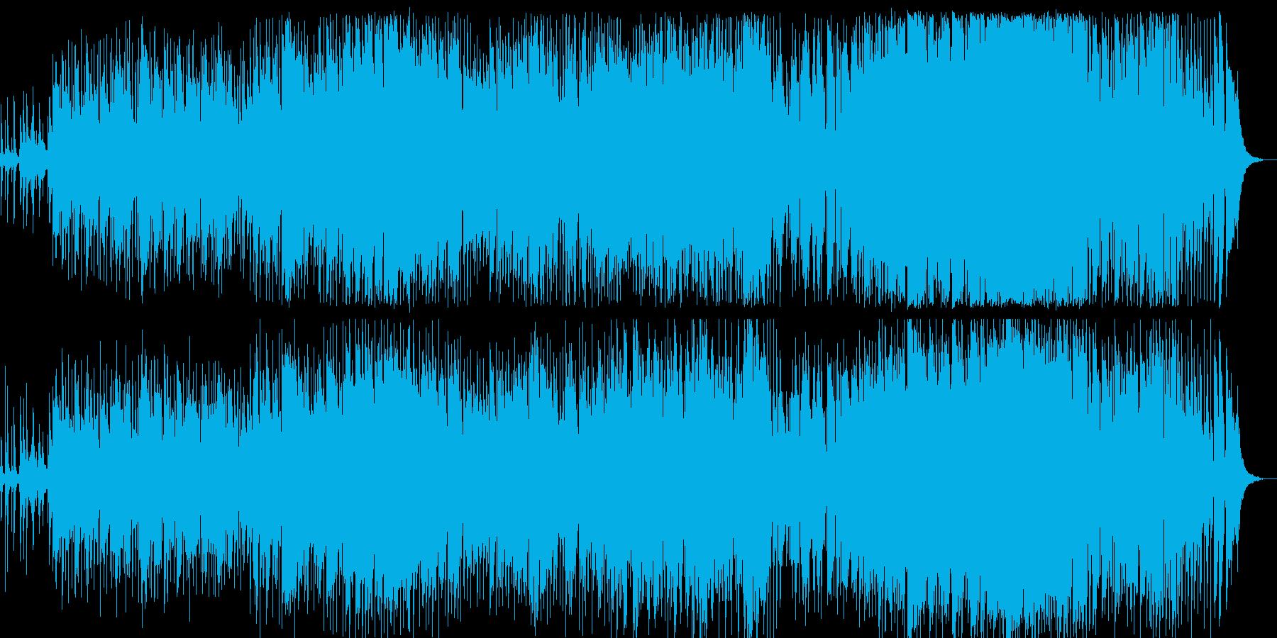 生演奏高音質の切なく感動的なバラードの再生済みの波形