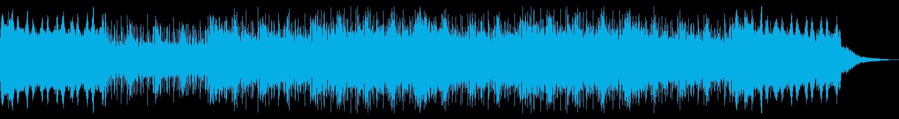 デジタル無機質なインダストリアルの再生済みの波形