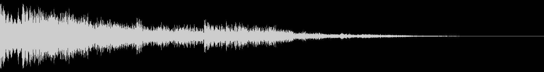 ミステリー(奇妙な現象の時の音)ver4の未再生の波形