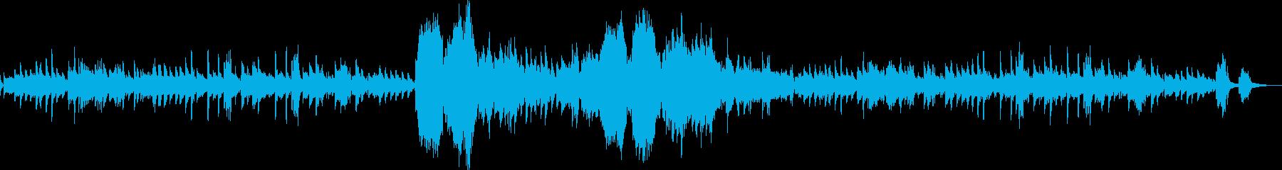 ショパン ノクターン Op15-No1の再生済みの波形