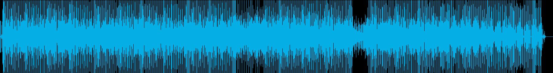 明るくノリの良いモダンディスコ系ビートの再生済みの波形