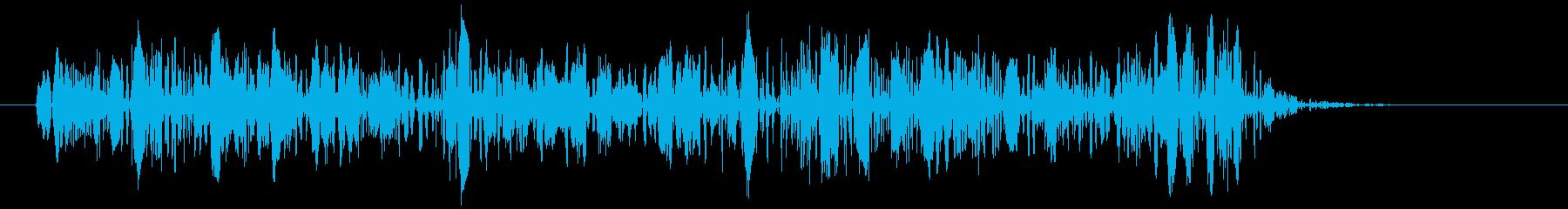 きもいグジュグジュグジュ音の再生済みの波形