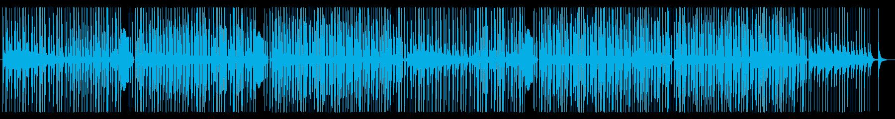 レゲトン、ラテン、ダンス系(ボーカル抜きの再生済みの波形