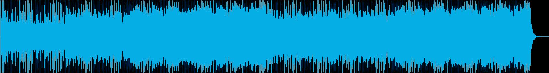荒っぽいインディーズロックの再生済みの波形